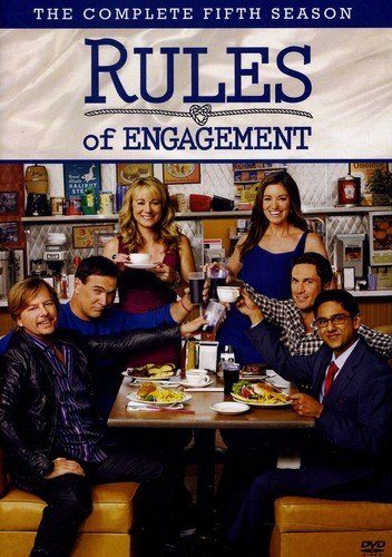 Rules of Engagement: The Complete Fifth Season DVD
