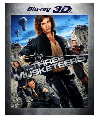 The Three Musketeers [Blu-Ray 3D] DVD