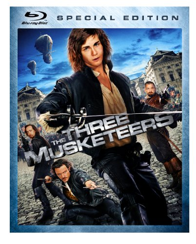 The Three Musketeers [Blu-ray] DVD