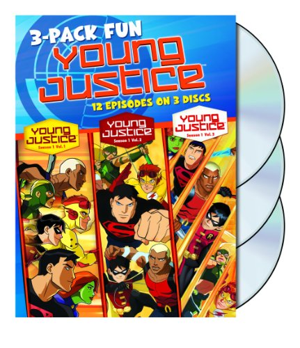 Young Justice: Season 1 Volumes 1-3 DVD