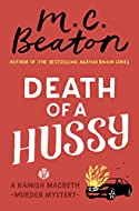 Book Cover: Death of a Hussy by M C Beaton