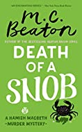 Book Cover: Death of a Snob by M. C. Beaton