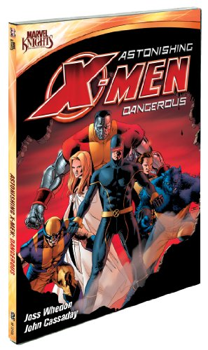 Astonishing X-Men: Dangerous cover