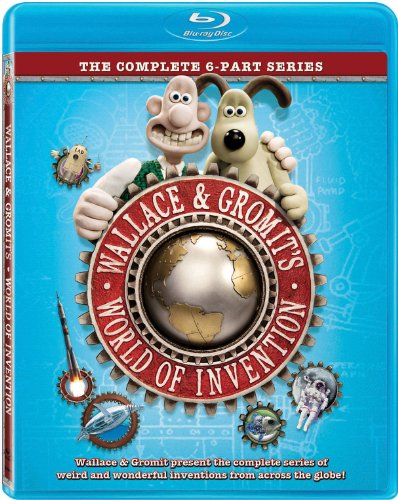 Wallace & Gromit: World of Invention cover