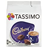 Product Image of TASSIMO Cadbury Hot Chocolate Drink 8 discs, 8 servings...