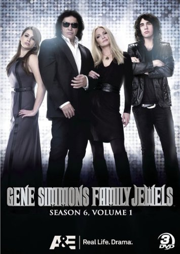 Gene Simmons Family Jewels: Season 6 - Part 1 DVD