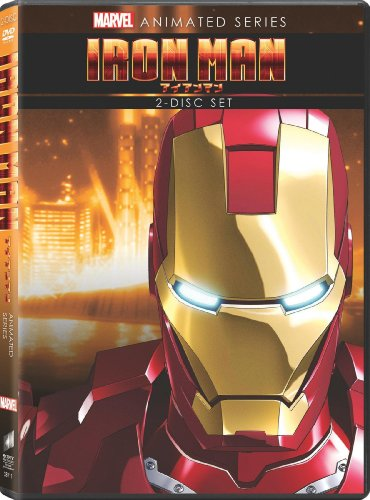 Marvel Anime: Iron Man cover