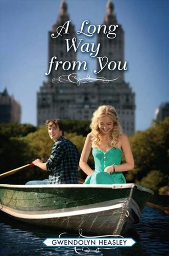 Book A Long Way from You- two people in a boat in Central Park