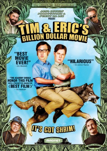 Tim & Erics Billion Dollar Movie DVD