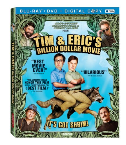 Tim &amp; Eric's Billion Dollar Movie  DVD