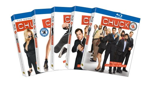 Chuck: Seasons One - Five [Blu-ray] DVD