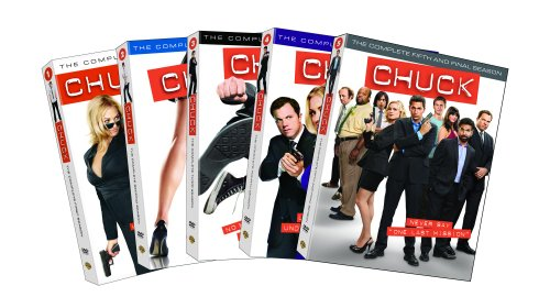 Chuck: Seasons One - Five DVD