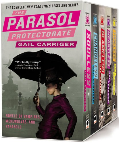 Book The Parasol protectorate boxed set
