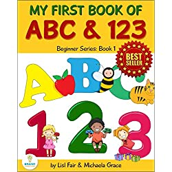 My First Book of ABC and 123: An Educational Picture Book for Young Children