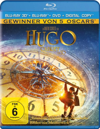 Hugo Cabret (+ Blu-ray + DVD + Digital Copy) [3D Blu-ray]