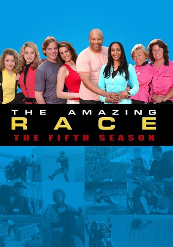 The Amazing Race Season 5 DVD