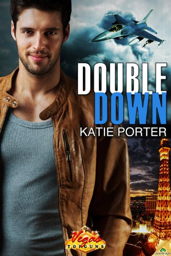 Double Down - Katie Porter. Dude with a plane behind him standing over strip in Vegas. I think he might be wearing a member's only jacket, though. 