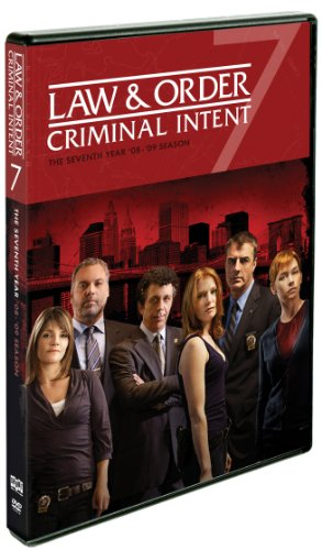 Law & Order: Criminal Intent: Year Seven DVD