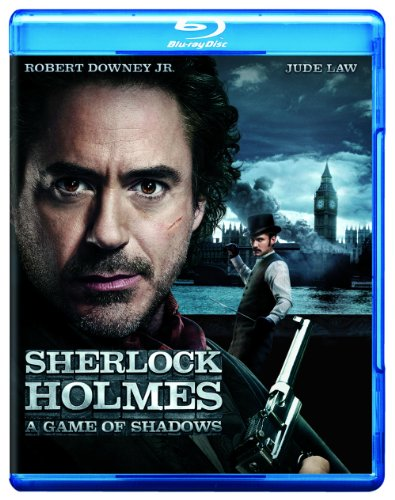 Sherlock Holmes: A Game of Shadows  DVD