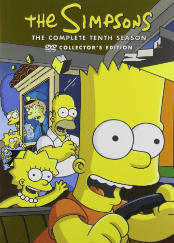 The Simpsons: The Complete Tenth Season DVD