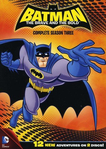 Batman: The Brave And The Bold Season Three DVD