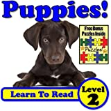 Free Kindle Book : Puppies! Learn About Puppies While Learning To Read - Puppy Photos And Facts Make It Easy!