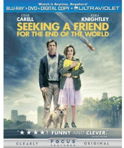 Seeking a Friend for the End of the World [Blu-ray] DVD