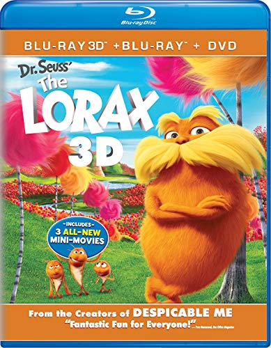 Dr. Seuss' The Lorax 3D Combo Pack  DVD