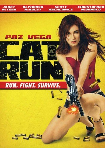 Cat Run DVD