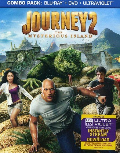 Journey 2: The Mysterious Island [Blu-ray] DVD