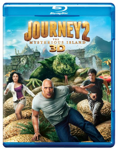 Journey 2: The Mysterious Island 3D [Blu-ray] DVD
