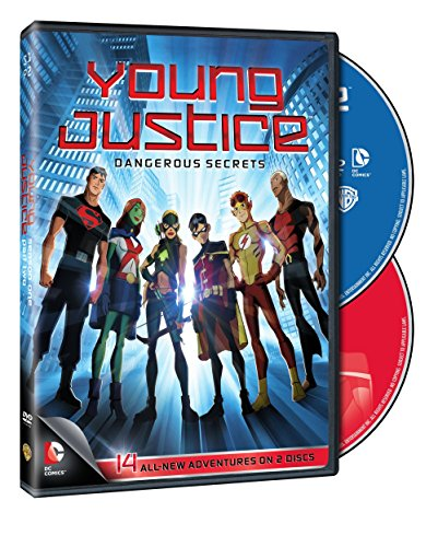 Young Justice: Dangerous Secrets DVD