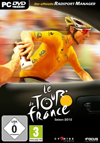 Le Tour de France 2012 - Radsport Manager -- dtp --Plattform: Windows XP / Vista / 7