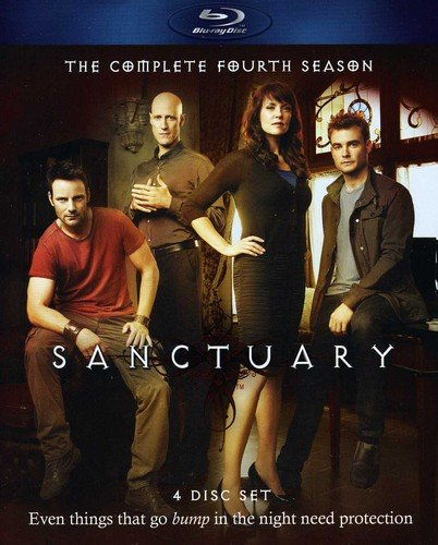Sanctuary - The Complete Fourth Season [Blu-ray] DVD