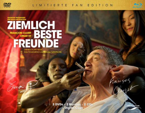 Ziemlich beste Freunde - Fan Edition [Blu-ray + DVD] [Limited Edition]
