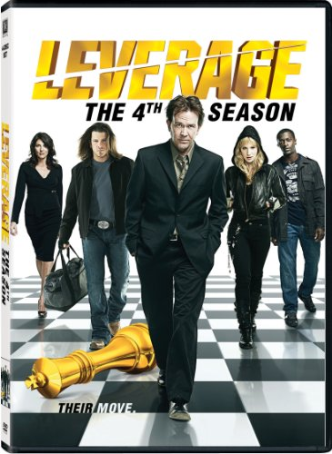 Leverage: Season 4 DVD