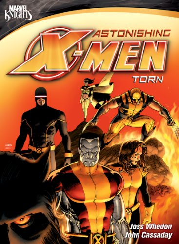 Astonishing X-Men: Torn cover