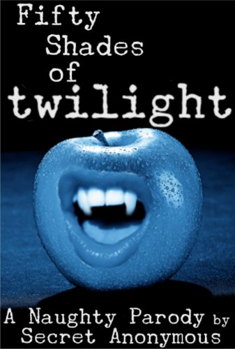 Fifty Shades of Twilight = a vampire mouth on top of an apple. SIGH.