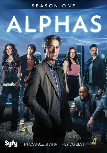 Alphas: Season One DVD