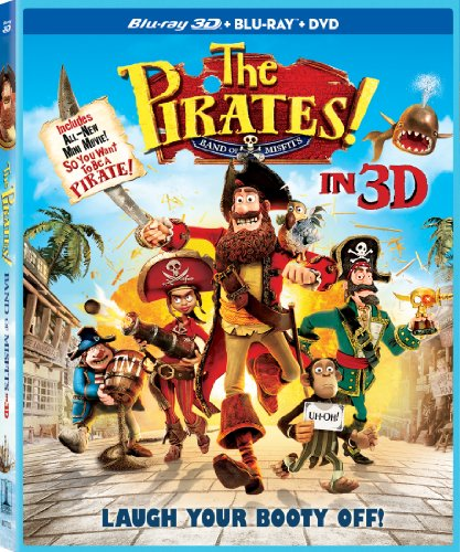 The Pirates! Band of Misfits  DVD