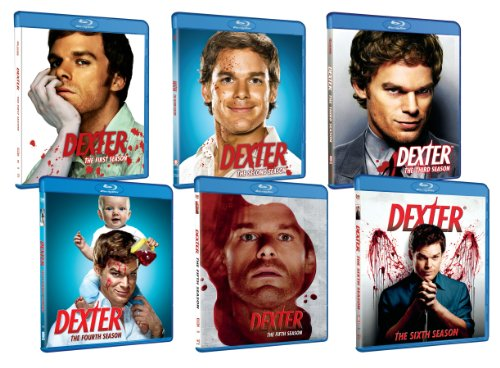 Dexter: Seasons 1-6 [Blu-ray] DVD