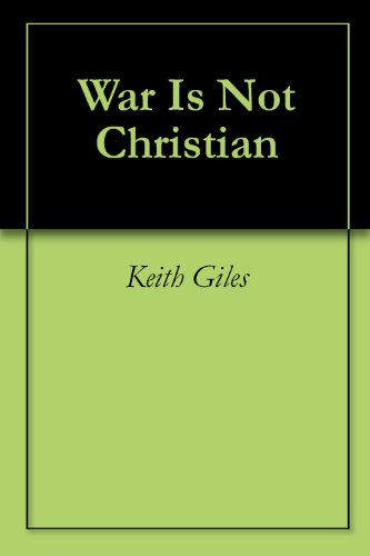 War Is Not Christian