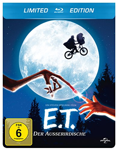 E.T. - Der Außerirdische (+ Digital Copy)(Steelbook) [Blu-ray] [Limited Edition]