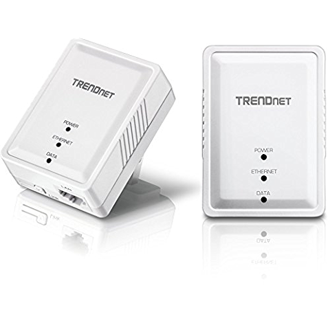 TRENDnet Powerline 500 AV Nano アダプターキット/ 500Mbps Compact Powerline AV Adapter Kit[TPL-406E2K] #Personal_Computer #B008F537KC