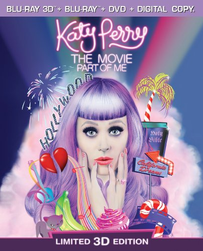 Katy Perry The Movie: Part of Me  DVD
