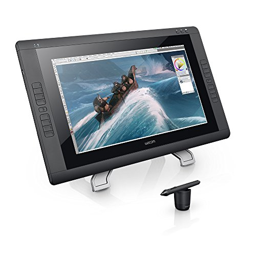 Wacom CINTIQ 22HD Pen Display   Graphics Monitor with Digital Pen   Black