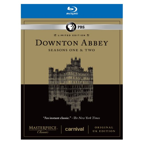 Downton Abbey Seasons 1 & 2 Limited Edition Set - Original UK Version Set [Blu-ray] DVD