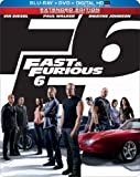 Fast & Furious 6 (Blu-ray + DVD + Digital Copy + UltraViolet)
