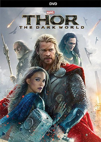 Thor: The Dark World DVD cover