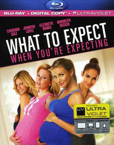 What To Expect When You're Expecting [Blu-ray + Digital Copy] DVD